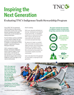 A summary of an evaluation of our Supporting Emerging Aboriginal Stewards (SEAS) program.